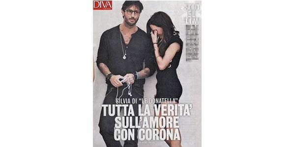 """Gossip, Silvia Provvedi delle 'Donatella' confessa: """"Sì, è vero, amo Fabrizio Corona"""""""