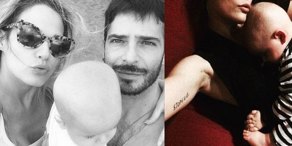 """Gossip, Laura Chiatti orgogliosa del marito Marco Bocci e del figlio Enea: """"Ho realizzato il mio sogno"""""""