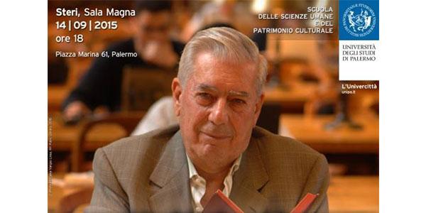 Laurea ad honorem a Mario Vargas Llosa  Il premio Nobel tiene una lectio magistralis