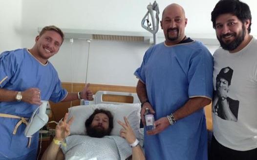 Intervento riuscito per Castrogiovanni: asportato il tumore alla schiena