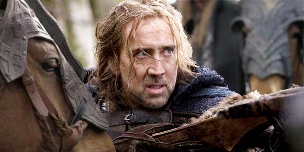 "Nicolas Cage dichiara: ""Ho rifiutato la parte di Aragorn"""