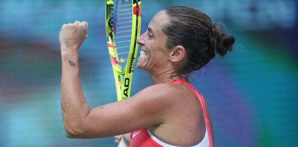 """Tennis, Roberta Vinci annuncia il ritiro: """"Roma sarà il mio ultimo torneo"""""""
