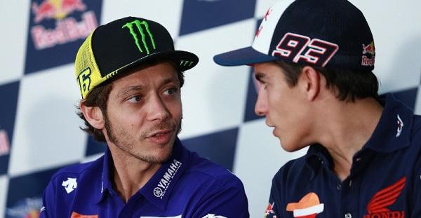 Moto GP, ancora tensione Marquez-Rossi. Vale rifiuta la stretta di mano