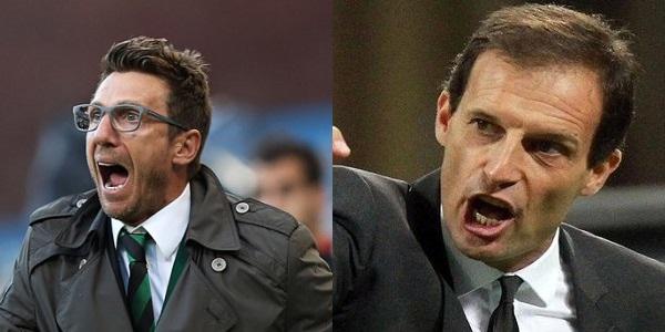 Sansone stende la Juventus: 1 – 0. Il Sassuolo vola in classifica, per i bianconeri altra occasione persa