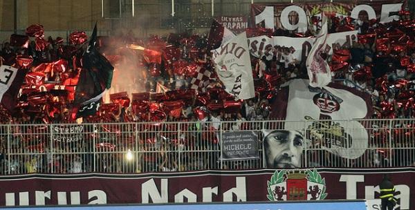 Serie B, il Frosinone passeggia col Trapani (1 – 4): doppietta di Ciofani, Dionisi e Kragl