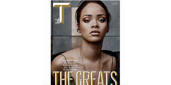 "Gossip, Rihanna senza inibizioni al New York Times: ""Ho la fobia della vagina profonda"""