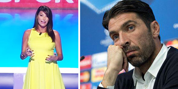 Gossip, Ilaria D'Amico sull'esclusione di Buffon dal Pallone d'Oro: Twitter non perdona