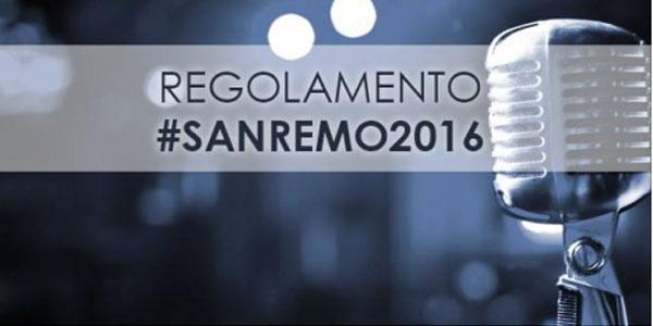 Festival di Sanremo 2016, ecco il regolamento e il programma delle cinque serate