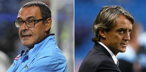 Le probabili formazioni di Napoli-Inter. Jorginho in dubbio. Mancini: Ljajic o Jovetic?