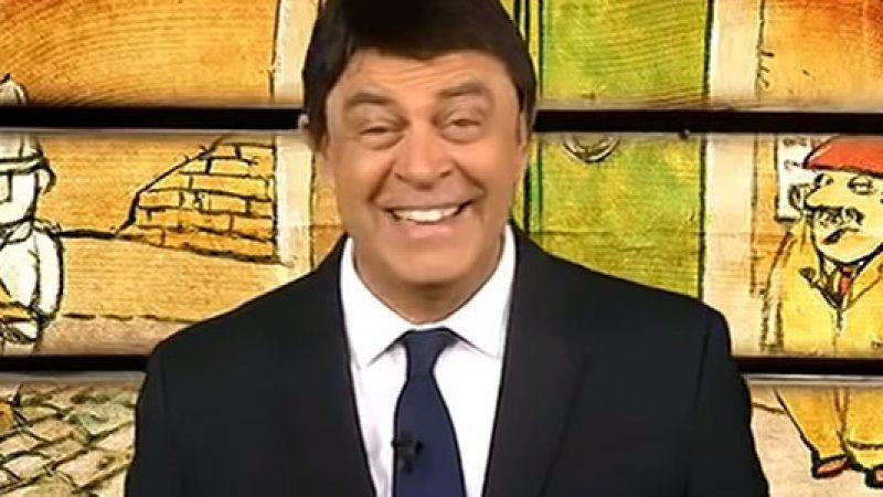 La copertina di Maurizio Crozza a DiMartedì del 3 novembre 2015 /VIDEO