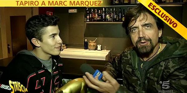 """Marquez: il Tapiro d'Oro è servito. """"Mi piacerebbe dire di essere amico con Rossi"""""""