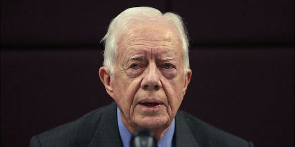 Il 91enne ex presidente Usa Jimmy Carter è guarito dal cancro
