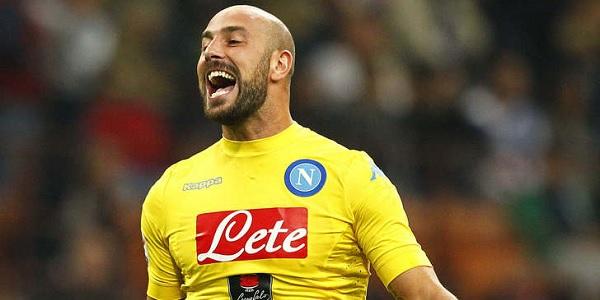Napoli, allarme Reina: si ferma in allenamento. A rischio per Udine?