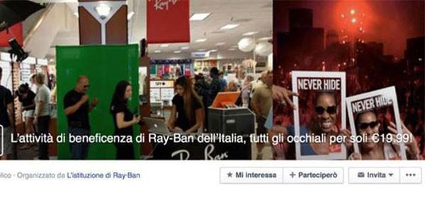 Facebook: Attenzione al virus dei Ray-Ban