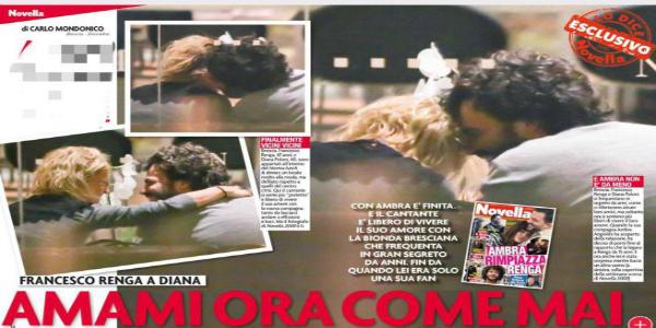 Gossip, Francesco Renga e Diana Poloni vanno a convivere? I due si frequenterebbero da anni…