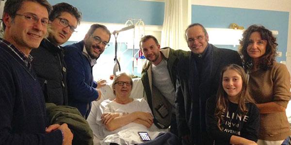 Vittorio Sgarbi è stato dimesso dal Policlinico di Modena
