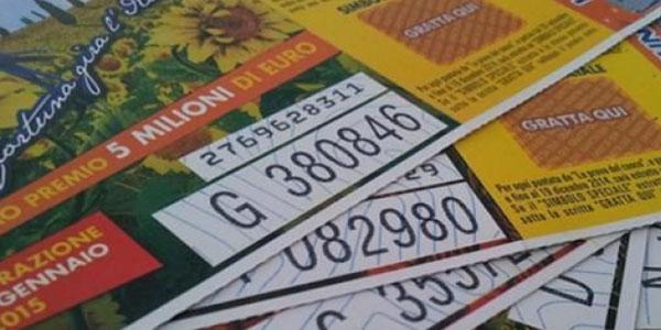Lotteria Italia, vinti 5 milioni a Sala Consilina. Tutti i biglietti vincenti