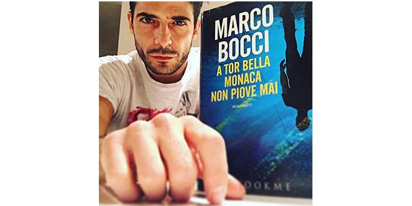 """Marco Bocci presenta """"A Tor Bella Monaca non piove mai"""" alla libreria Modusvivendi di Palermo"""
