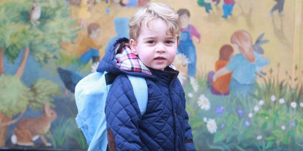 Il principino George inizia le elementari: studierà anche danza e recitazione