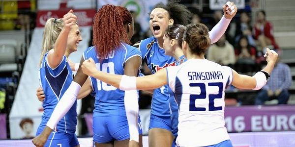 Rio 2016. Per l'Italrosa di volley, a maggio, l'ultima chance per qualificarsi
