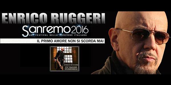 """Sanremo 2016, il testo di """"Il primo amore non si scorda mai"""" – Enrico Ruggeri"""