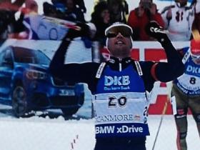 Dominik Windisch, Biathlon