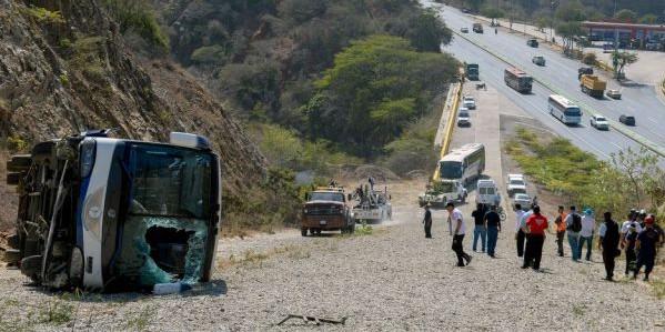 Venezuela, il pullman dell'Huracan si ribalta: tre feriti lievi
