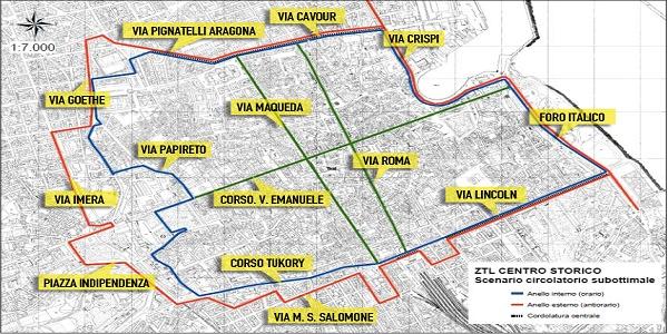 Palermo, Il Tar sospende la Ztl in centro storico   Il Comune annuncia il rinvio del provvedimento