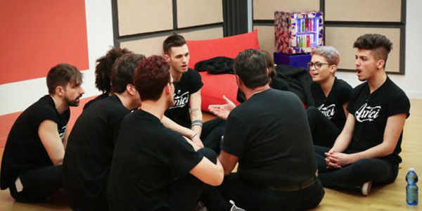 Amici 15, puntata 5 febbraio 2016: Alessio ed Emanuele formano le loro squadre