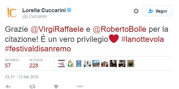 """Sanremo 2016  Virginia Raffaele e Roberto Bolle ballano """"La notte"""