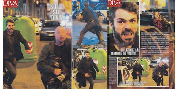 Luca Argentero insegue paparazzo, rissa sfiorata