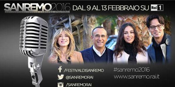 Sanremo 2016, tutti i testi delle canzoni in gara