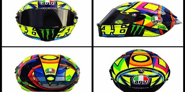 """MotoGp, Valentino Rossi corre con il nuovo casco <u><b><font color=""""#343A90"""">FOTO</font></u></b>"""