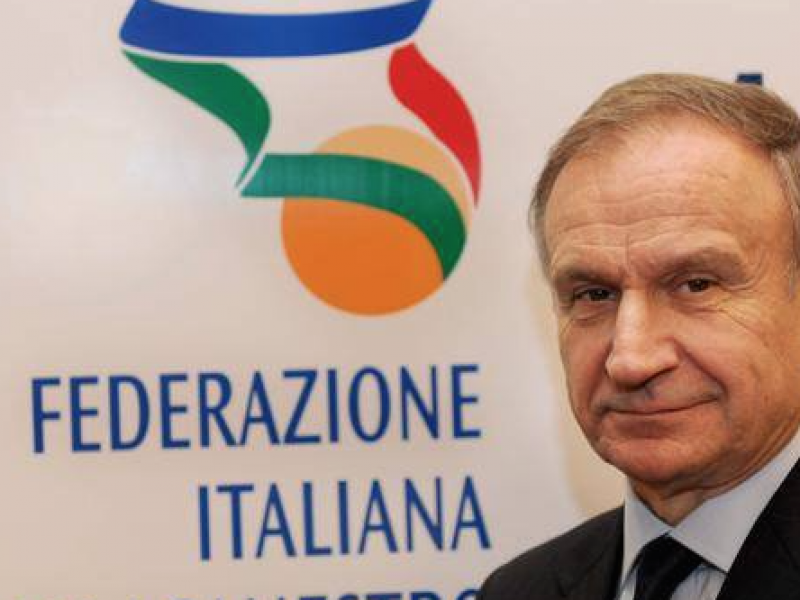 Gianni petrucci, federazione italiana basket, Italia