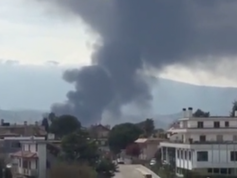 Incendio italPannelli Teramo, Teramo, ascoli, Italpanelli, incendio italpannelli