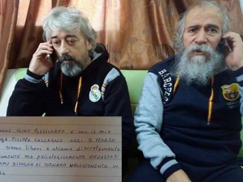 Libia liberati ostaggi italiani