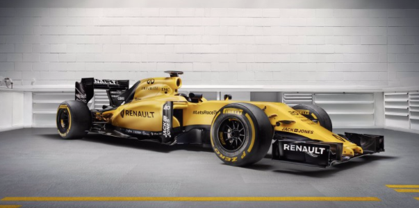 Formula 1, la Renault torna all'antico: la Rs16 sarà gialla