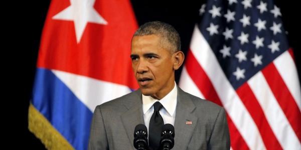 """Obama a Cuba per """"seppellire la Guerra Fredda""""   """"Spetta al popolo cubano scegliere il futuro"""""""