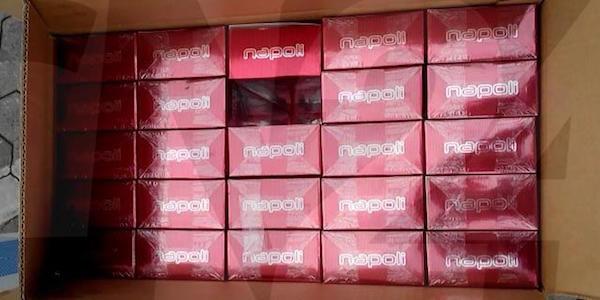 La Guardia di Finanza sequestra 5 tonnellate di sigarette di contrabbando