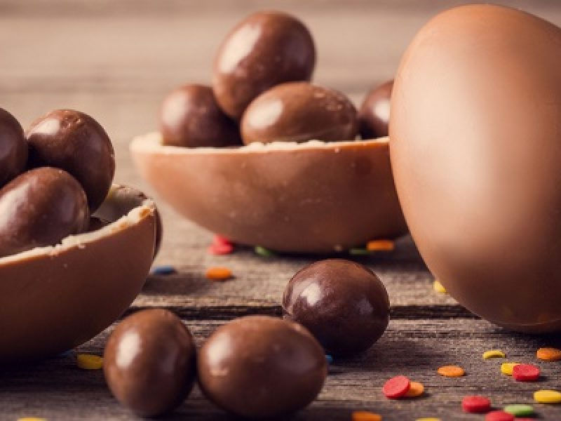 uova di cioccolato pasqua