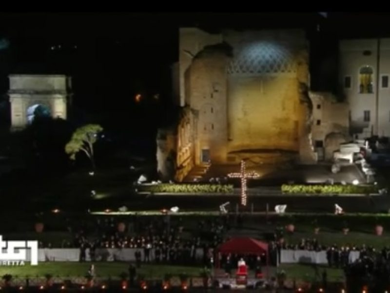via crucis 2016 papa francesco