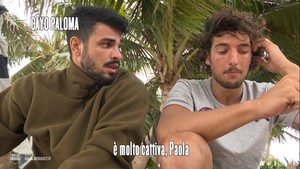 Gossip Isola dei Famosi 2016, lite tra Andrea Preti e Cristian Gallella: il commento di Tara Gabrieletto /FOTO