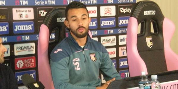 """Palermo, Gonzalez: """"Novellino ha portato entusiasmo. Uniti si può raggiungere la salvezza"""""""