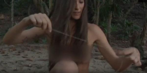 """Gossip Isola dei Famosi 11, a Playa Desnuda Matteo Cambi aiuta Patricia Contreras a """"vestirsi"""" /FOTO"""