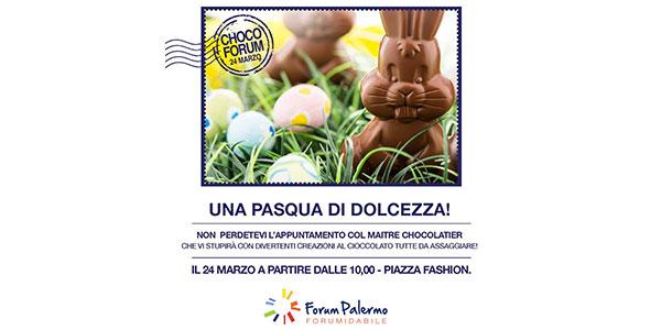 Laboratorio pasquale al Forum Palermo | con il maître chocolatier Claudio Lombardo