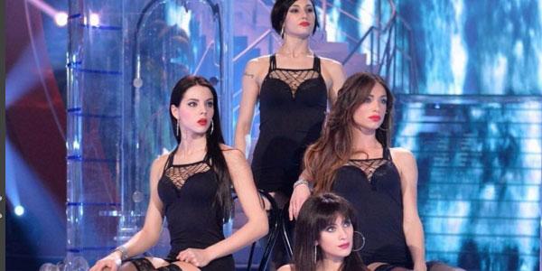 """Lorella Boccia, Shaila Gatta e Giulia Pauselli: da """"Amici"""" al corpo di ballo di """"Ciao Darwin"""" /FOTO"""