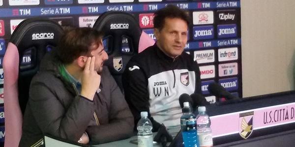"""Novellino si prende il Palermo: """"La squadra ha qualità e voglia, si può uscire da questa situazione"""""""