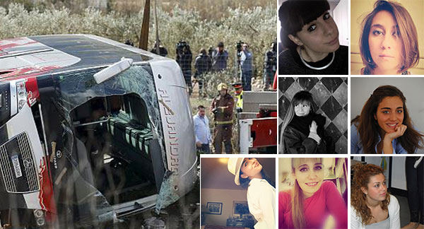Bus Catalogna, l'ultimo saluto a tre studentesse | Le altre vittime arriveranno in Italia domani