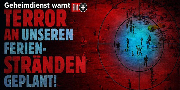 Allarme terrorismo: la Bild annuncia