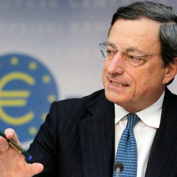 Draghi e le prospettive economiche dell'area euro |